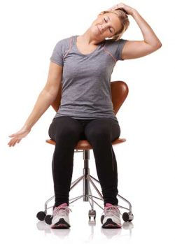 Seated Neck Stretch